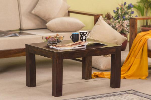 Solid Wood Cube Coffee Table S