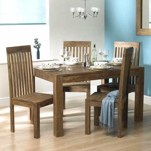 Solid Sheesham Wood Dining Set