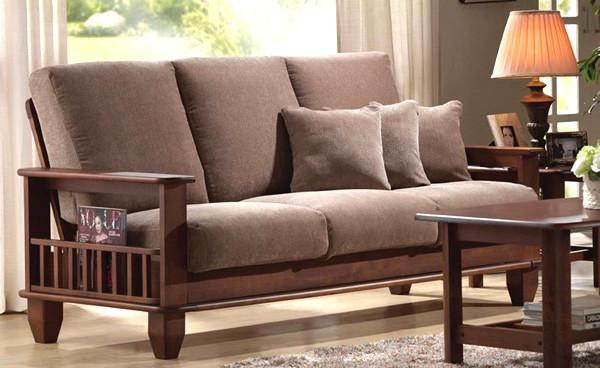 Wooden Sofa Sets ~ Jodhpur sofa set solid wood furniture online buy