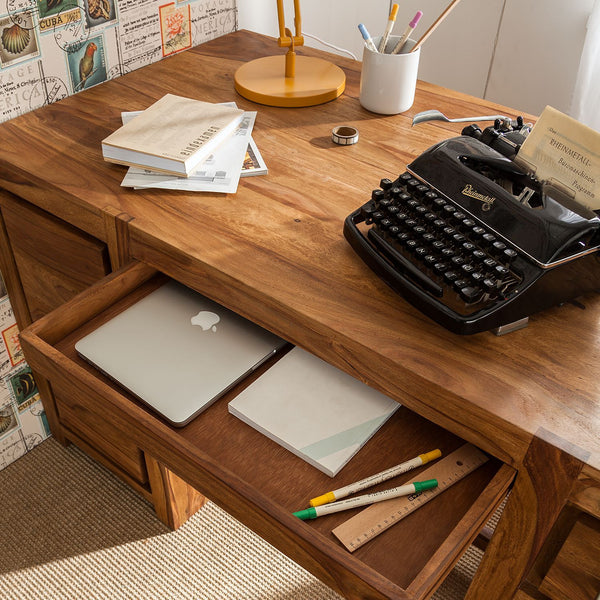 Solid Wood Port Writing / Office Desk