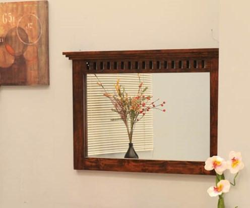 Solid Wood Kuber Mirror