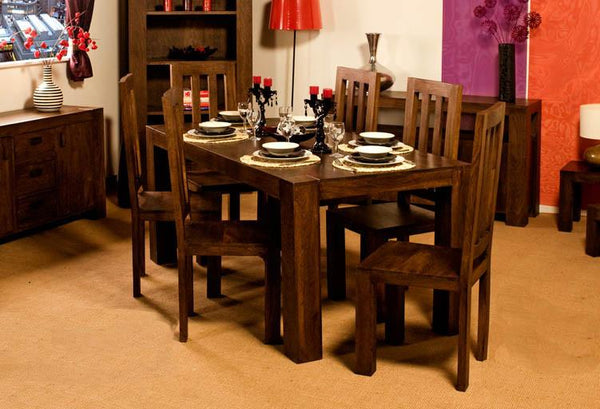Solid Wood Romeo Dining Set C