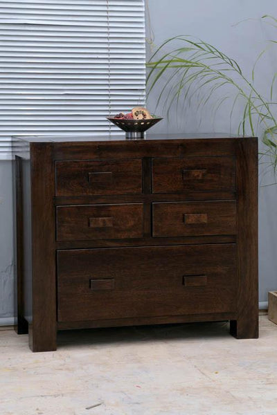 Solid Wood Romeo Drawer Chest