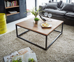 Solid Wood Indiana Rock Coffee Table