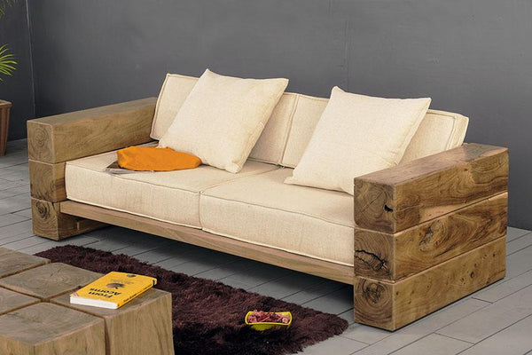 Solid Wood INDIANA Hung Sofa