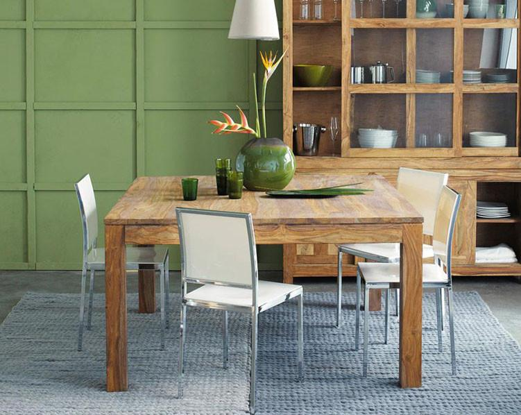 Solid Wood Voted Dining Set