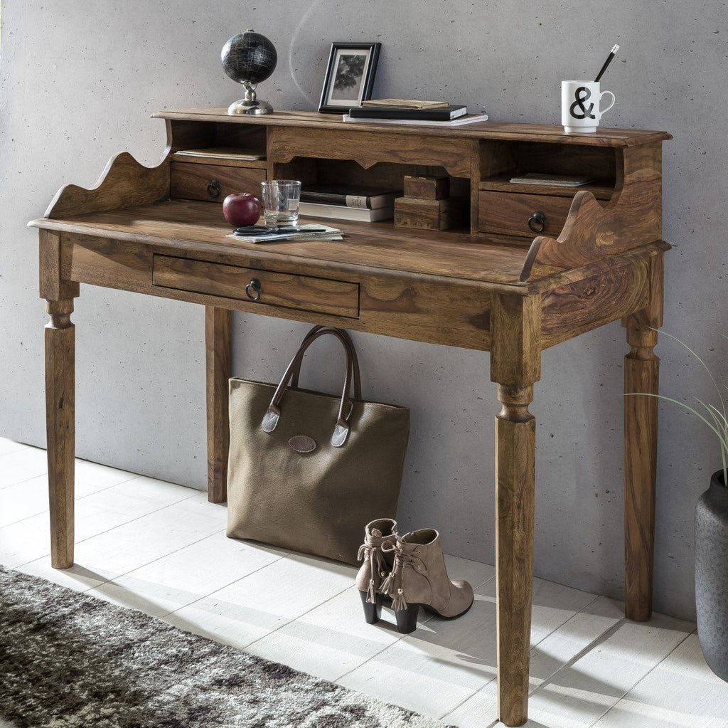 Solid Wood Jodhpur Writing Table