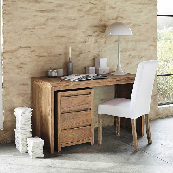 Solid Wood Voted Wood Writing / Office Desk