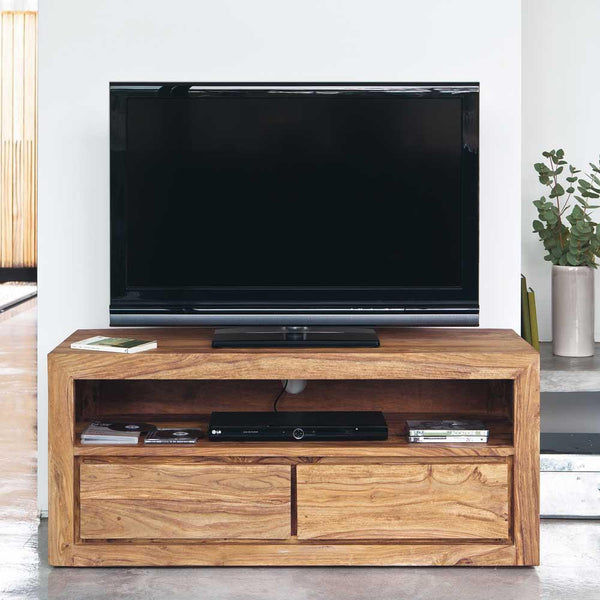 Solid Wood Voted Plasma Tv unit