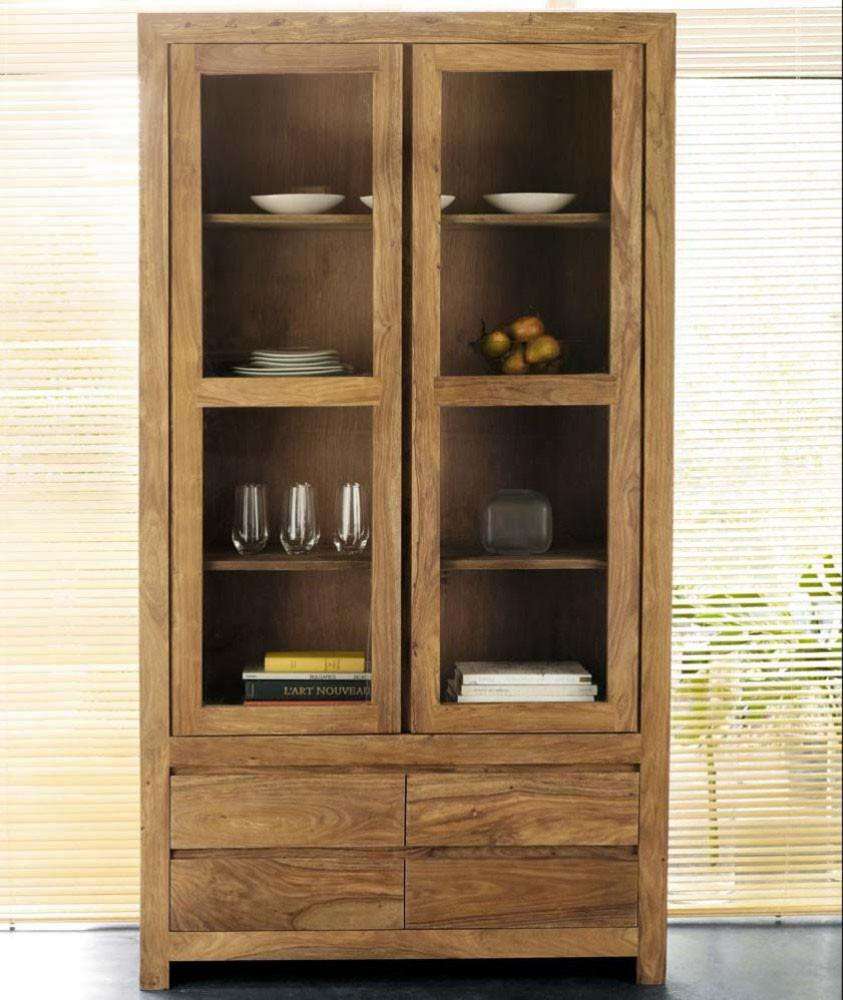 Kitchen Cabinet Solid Wood: Indian Solid Sheesham Wood