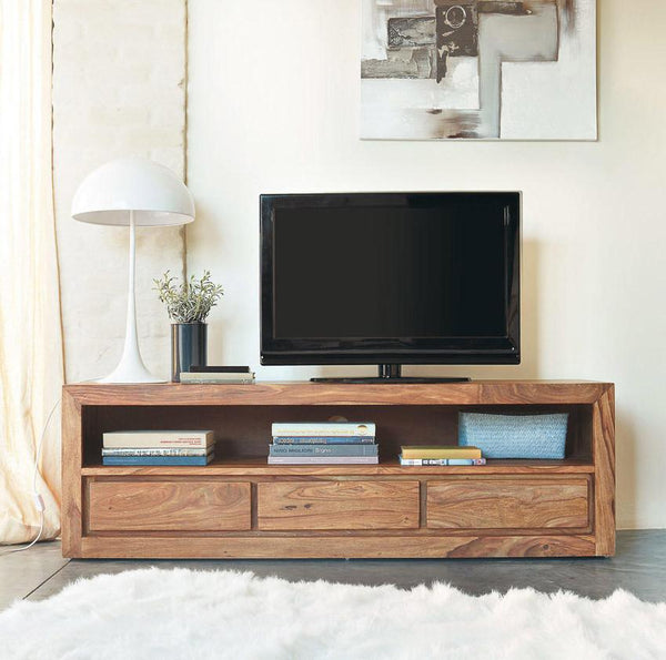 Solid Wood Voted Plasma Tv unit Grand