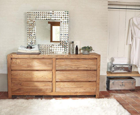 Solid Wood Voted Chest of Drawers Grand