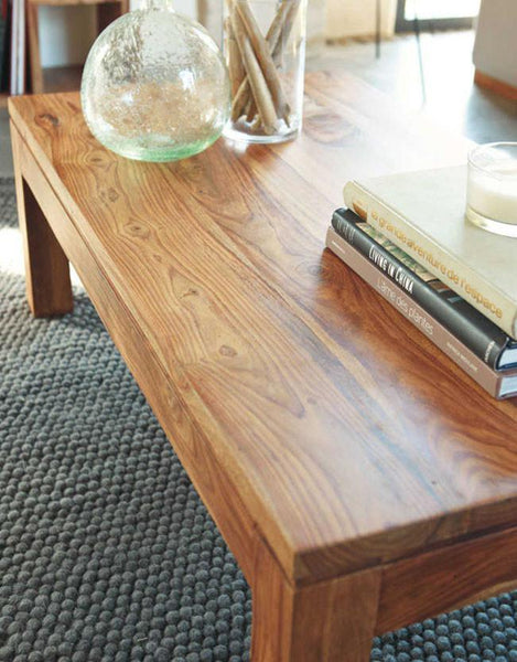 Solid Wood Voted Coffee Table Grand