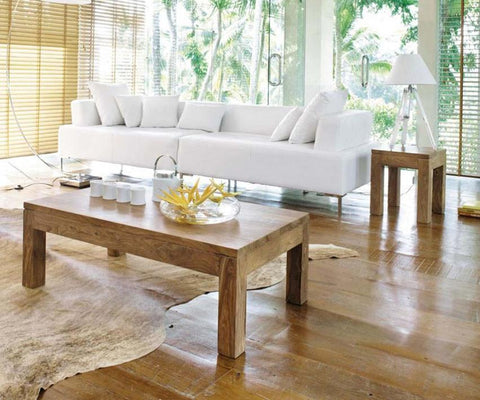 Solid Wood Voted Coffee Table