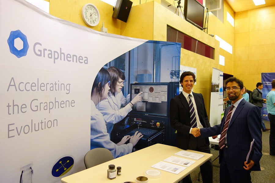Cambridge Graphene Tech Days 2015