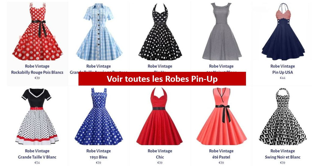 Voir les Robes Pin Up
