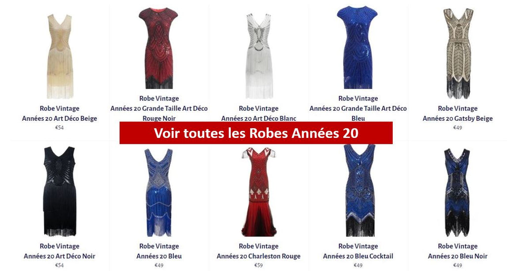 Robes années 20