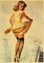 Affiche Vintage<br> Pin Up Elvgren - Louise Vintage