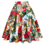 Jupe Vintage Pin Up Fleurs - Louise Vintage