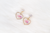 Eirene Dried Floral Earring (Orchid Wonder)
