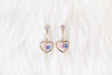 Charis Dried Floral Earring (Pastel Blues)