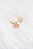 Freya Dried Floral Earring (Golden Sunset)