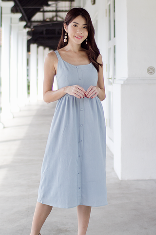 Marlie Midi Dress (Powder Blue)