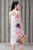 Geordie Two-Way Abstract Dress