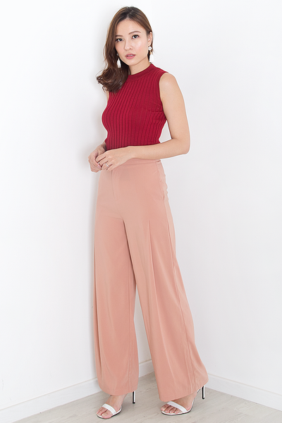 Sterlle Knit Top (Red)