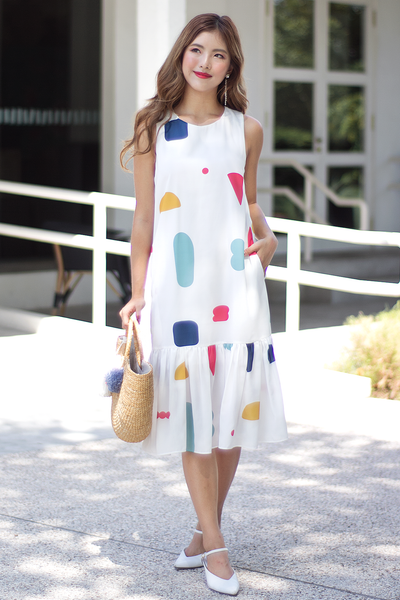 Rinne Abstract Dress