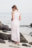 Ellise Maxi Dress (Powder Pink)