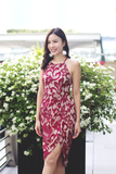 Ames Lace Dress (Red)