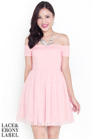 Arise Tulle Dress (Rose)