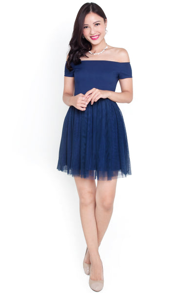 Arise Tulle Dress (Midnight)