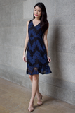 Annmari Lace Dress (Navy)