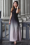 Loreine Ombre Dress (Space Grey)