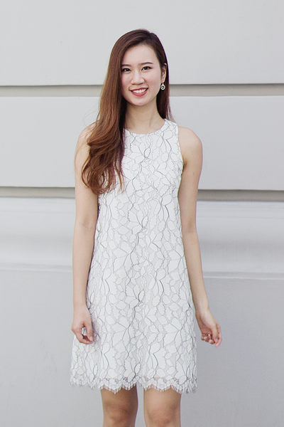 Leialle Lace Shift Dress