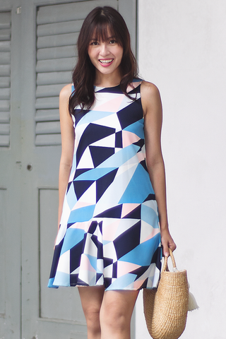 Jayie Abstract Dress