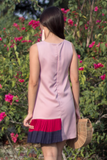 Darcella Colourblock Dress (Pink Bold)