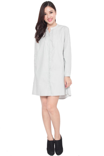 Brielle Relaxed Shirtdress