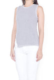 Katline Knit Top (Dove Grey)