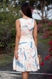 Charis Abstract Tier Dress