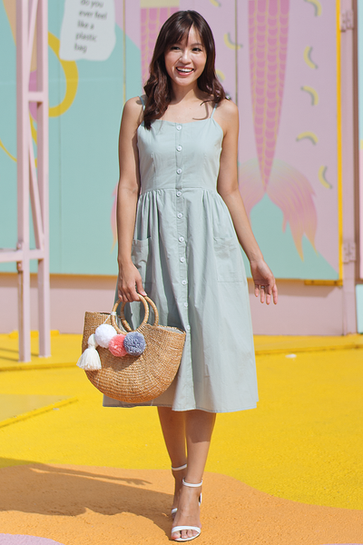 Fresia Dress (Mint)