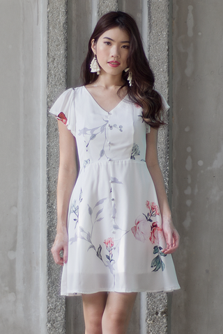 Audelia Floral Dress