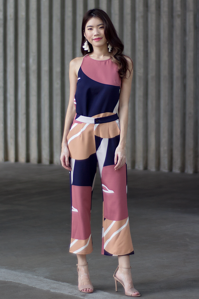 Kasdey Abstract Pants