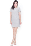 Reyan Emboss Shift Dress