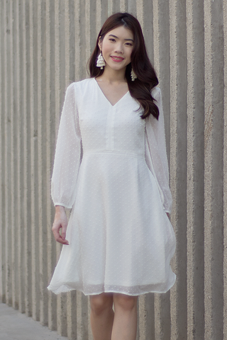 Wisterie Dress (White)