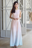 Adriana Ombre Maxi Dress (Pastel)