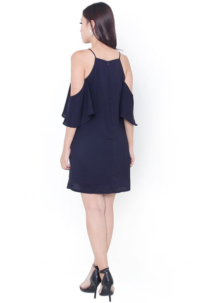 Desyne Flutter Dress (Navy)