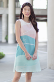 Emmaline Shift Dress (Mint)
